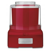 CUISINART FROZEN YOGURT-ICE CREAM & SORBET MAKER RED