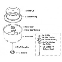 Bosch Universal Bowl Parts