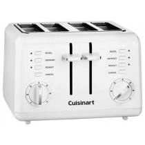 CUISINART CLASSIC COMPACT 4-SLICE TOASTER